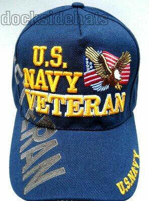 U.S. NAVY VETERAN (blue)