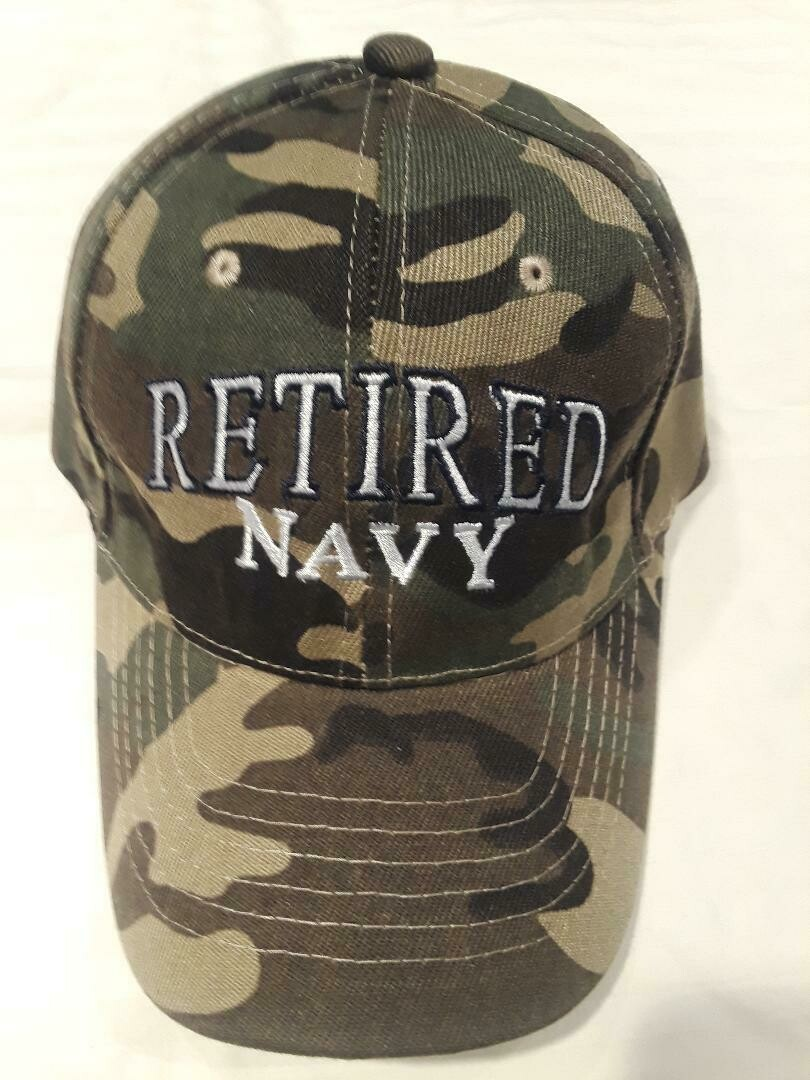 RETIRED NAVY (camo)