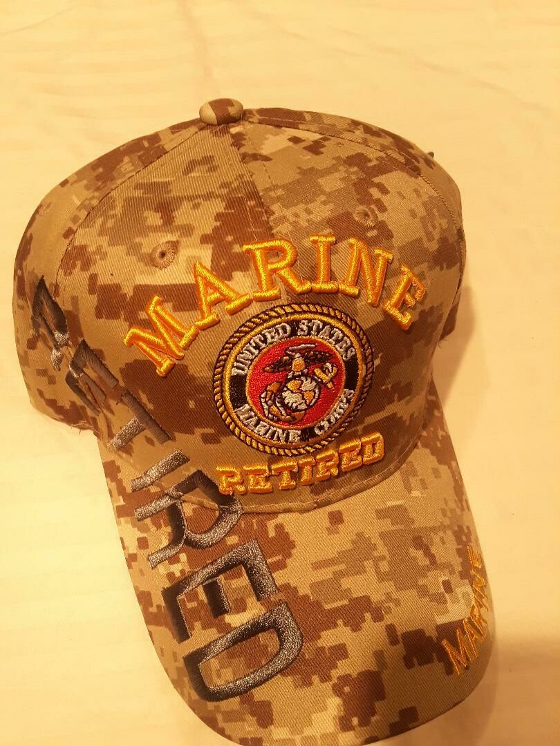 MARINE RETIRED (desert digi)