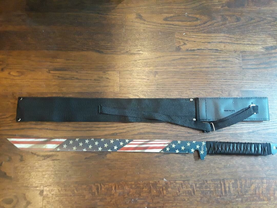 FANTASY NINJA SWORD  (American flag)