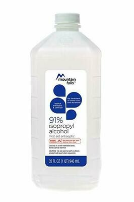 91% Isopropyl Alcohol
