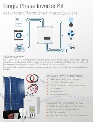"""Off-Grid """"Smart Inverter Solutions"""