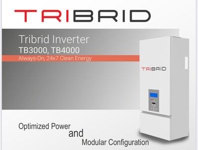 Tribrid Inverter TB4000 Always-On, 24x7 Clean Energy