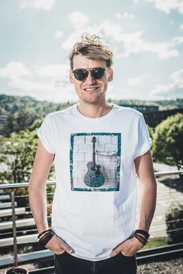 T-Shirt Dabu Guitar