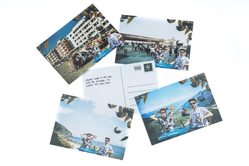 Falsche Ferienpostkarte für deine/deinen Liebsten!