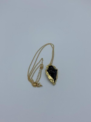 Kette Black Arrowhead
