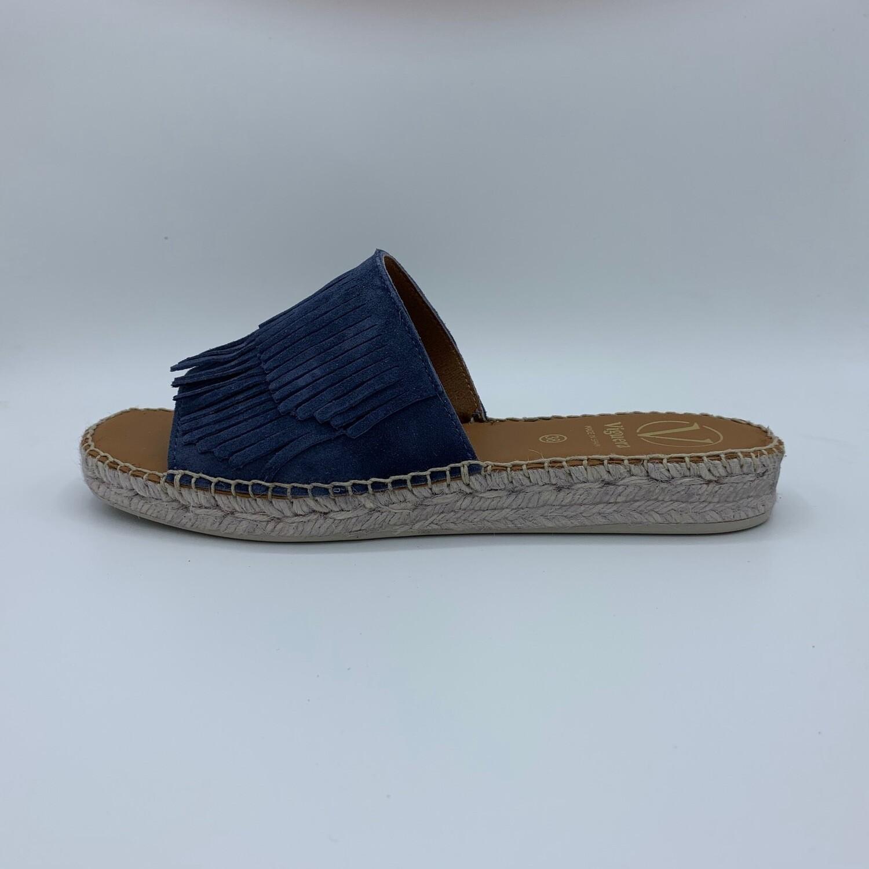 """Sandalen """"Vitelo"""" Azul Blau"""