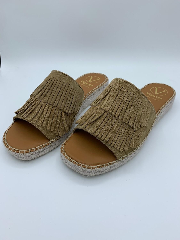 """Sandalen """"Vitelo"""" Beige"""
