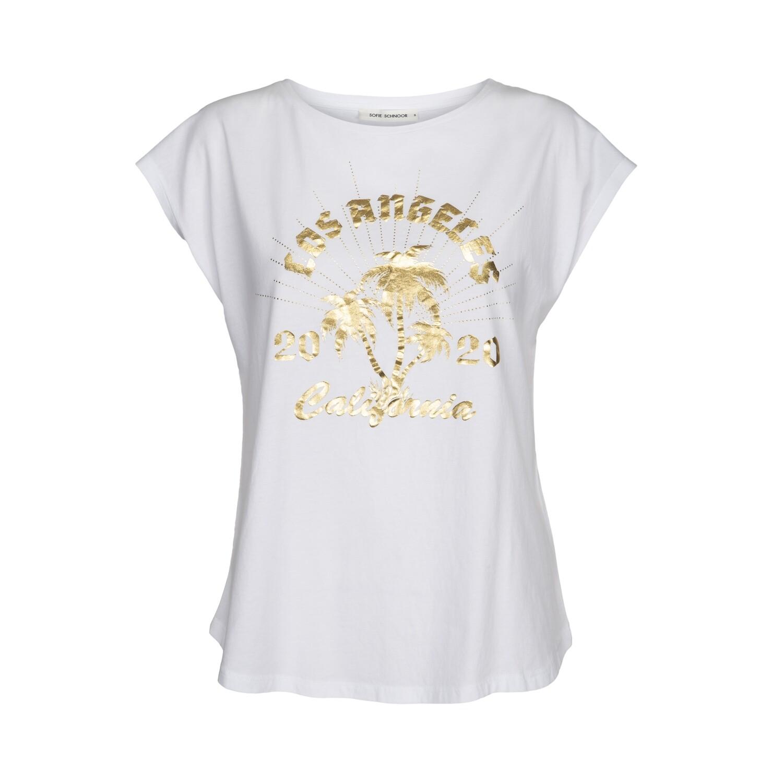"T-Shirt ""Los Angeles"" weiß"
