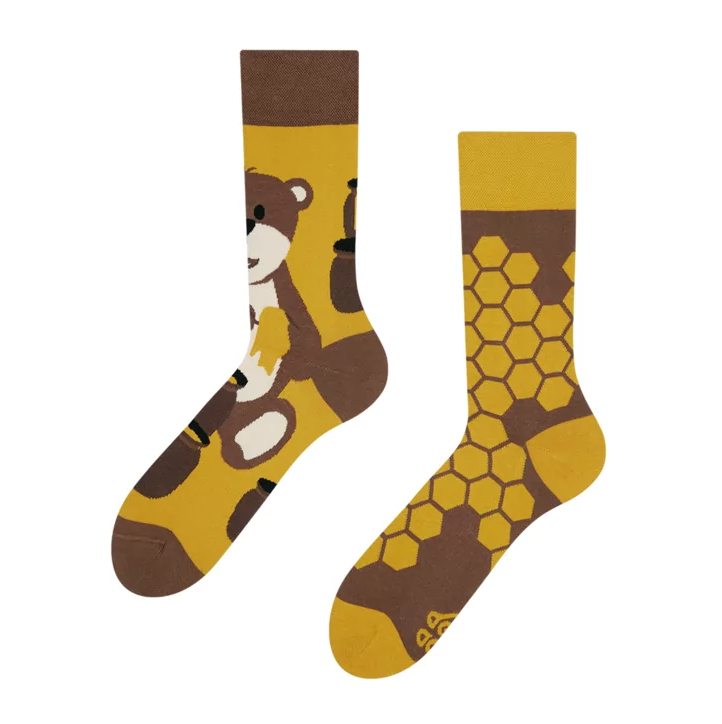 Honey Bear Socken