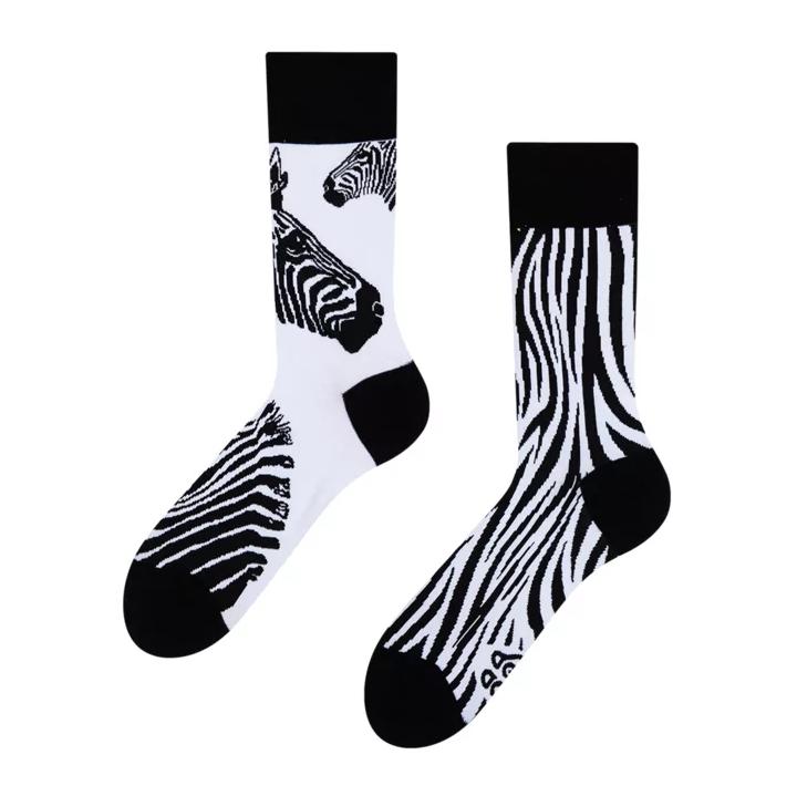 Zebra Socken