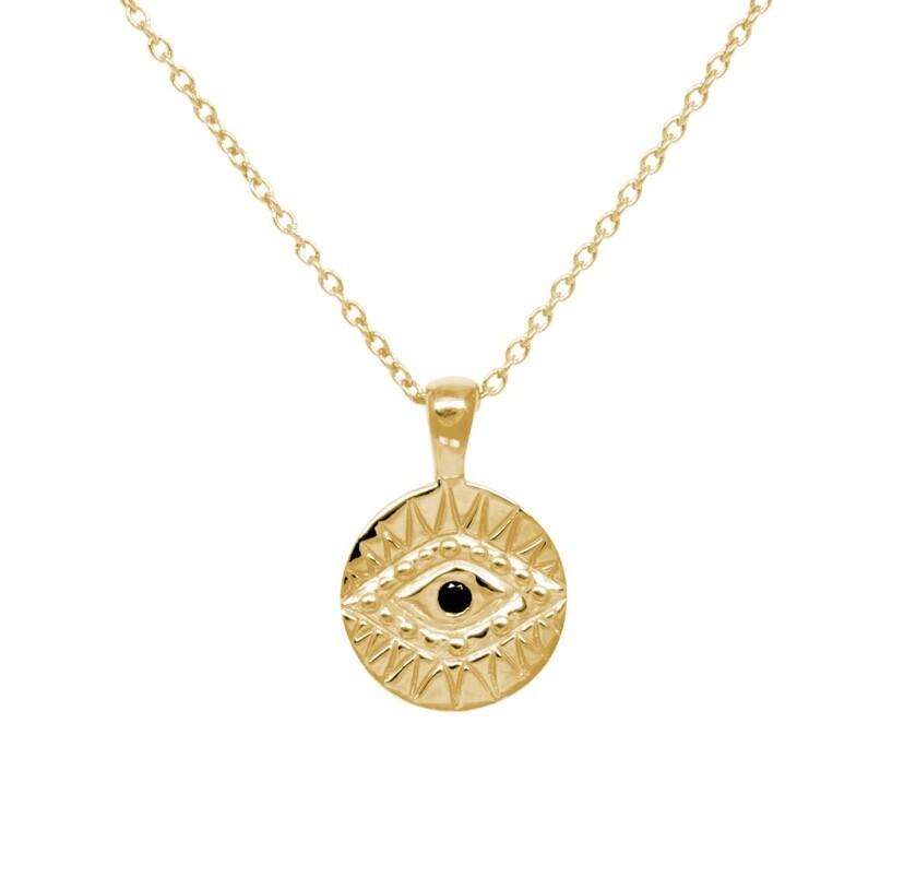 """Kette """"Eye"""" gold"""