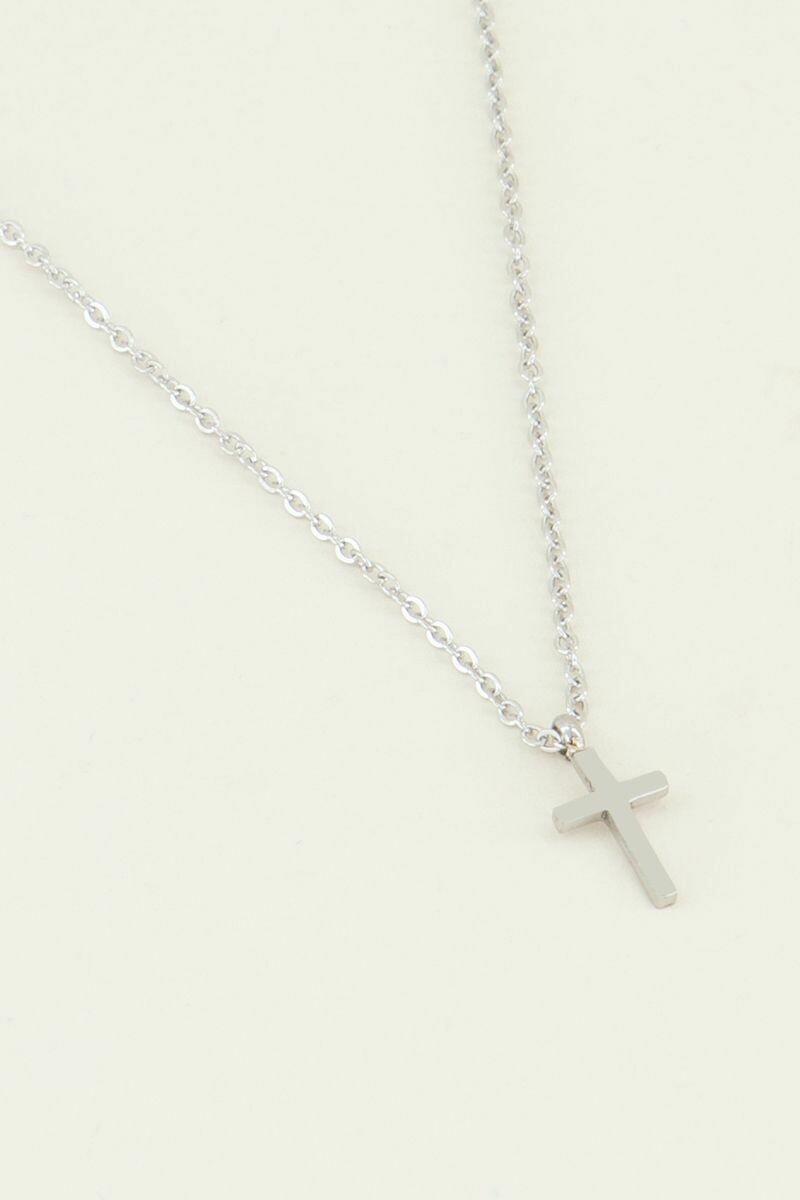 "Kette ""Kreuz"" - Silber"
