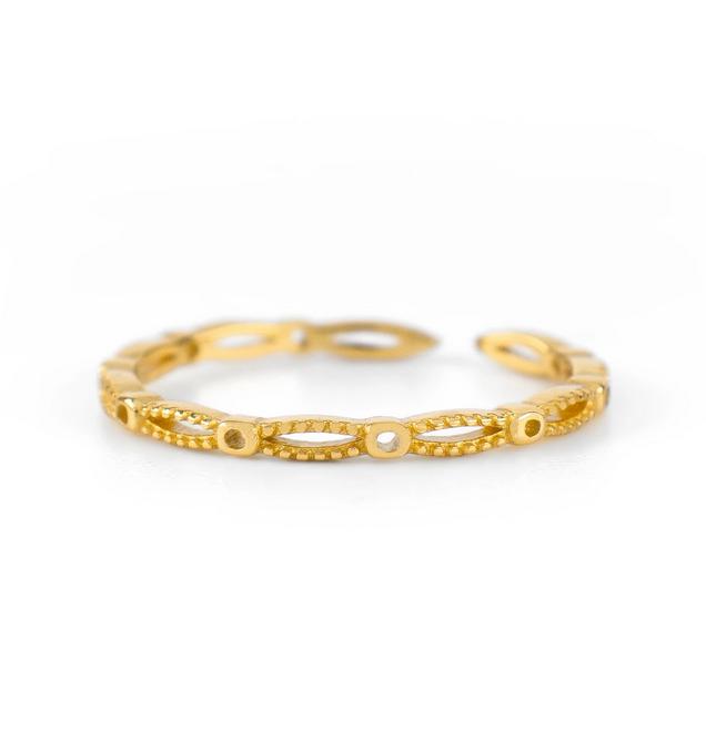 Ring beyon the horizon  - gold