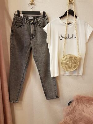 MOM Jeans Used Black