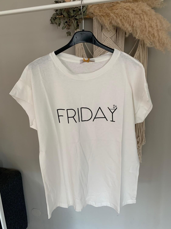 "Statement T-Shirt ""Friday"""
