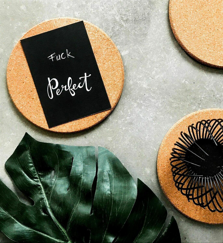"Postkarte ""F*ck Perfect"""