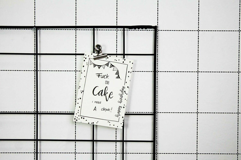 """Postkarte """"Cake"""""""