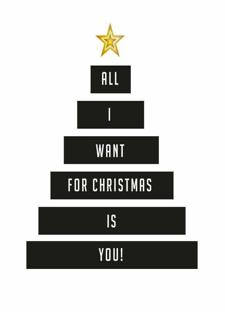"""Postkarte """"Christmas"""""""