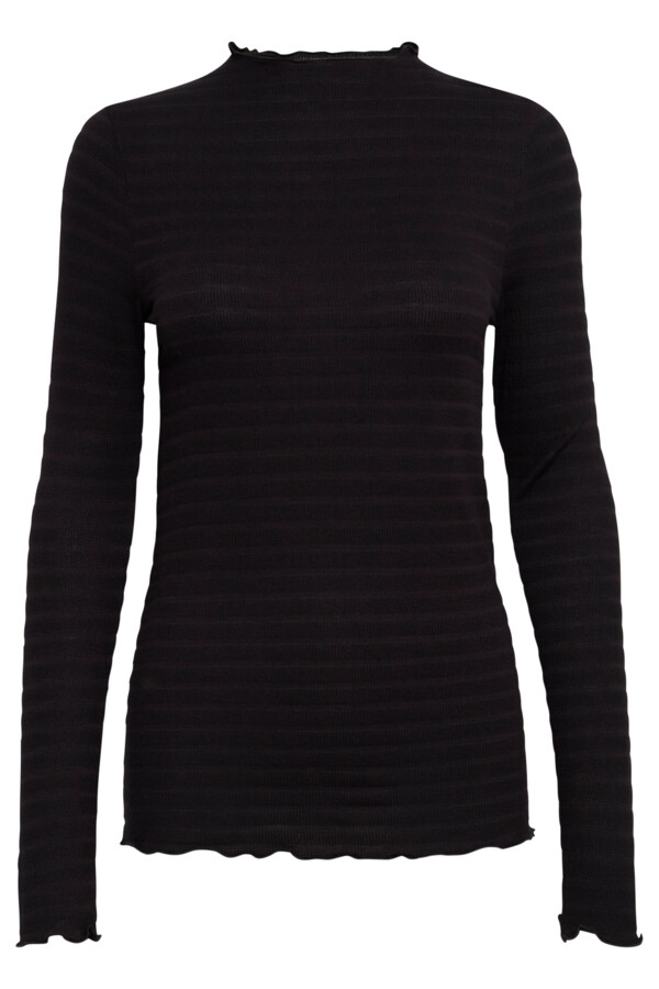 Langarm-Shirt IHVENLA schwarz