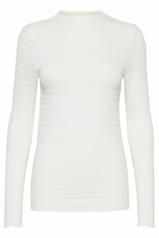 Langarm-Shirt IHVENLA weiß