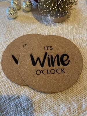 """Untersetzer Set """"Wine"""""""