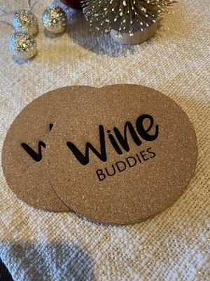"""Untersetzer """"Wine Buddies"""""""