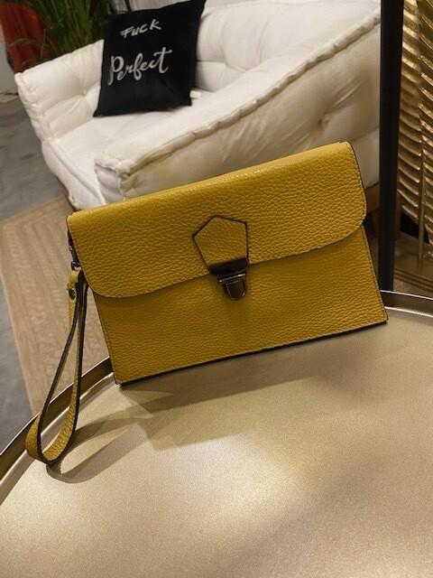 Handtasche Senfgelb