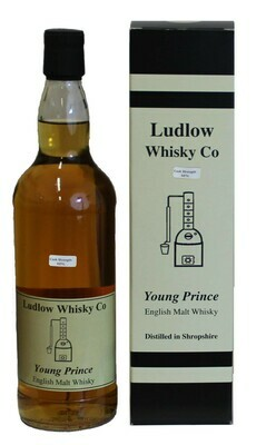 Cask Strength Young Prince Malt Whisky
