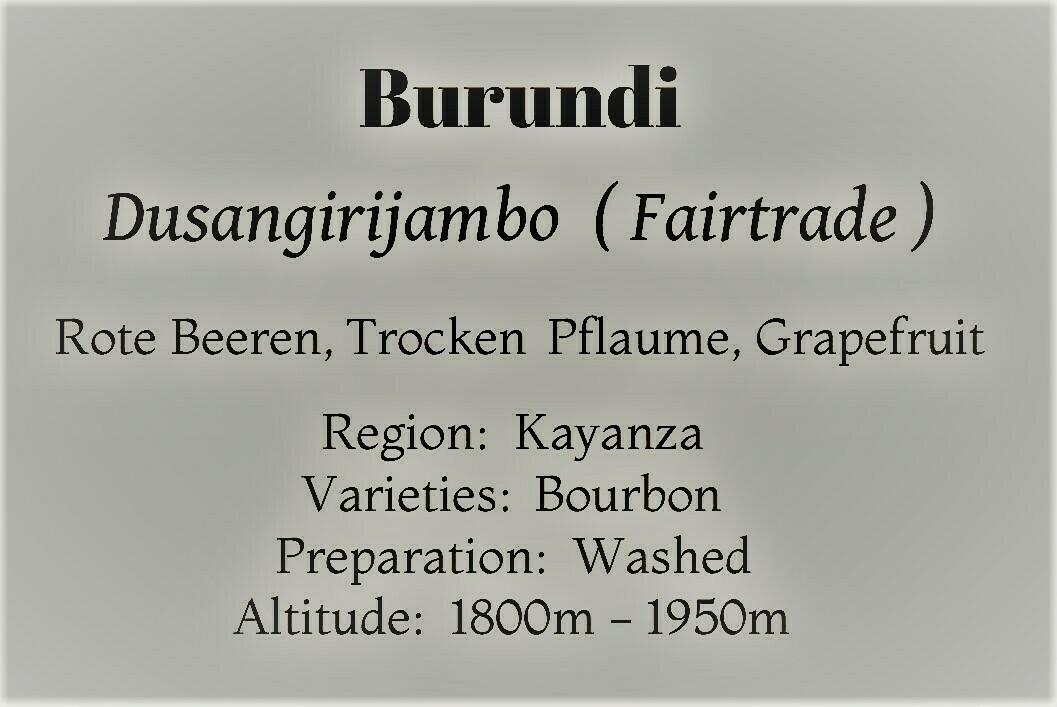 Burundi - Dusangirijambo