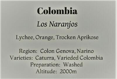 Colombia  Los Naranjos