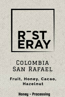 Colombia - San Rafael ( Honey Processed )  250 g
