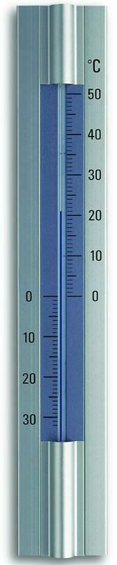 Innen-Aussen-Thermometer Aluminium TFA 12.2045