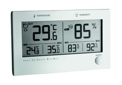 Funk-Thermo-Hygrometer TWIN PLUS