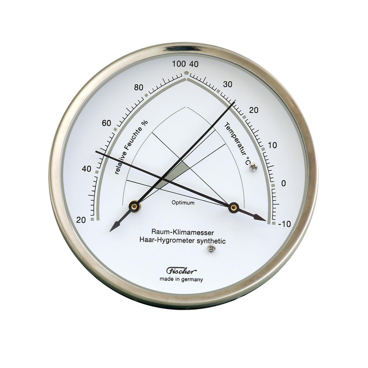 Raum-Klimamesser Edelstahl 146.01