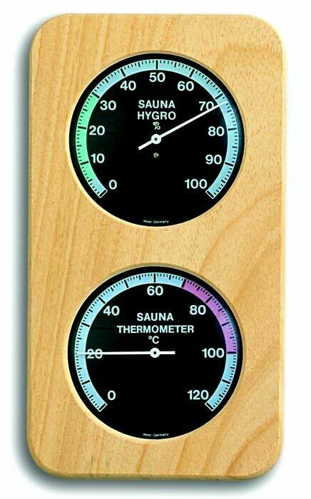 Sauna-Thermo-Hygrometer TFA 40.1004