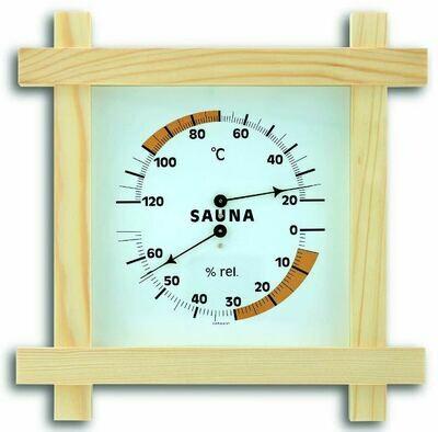 Sauna-Thermometer Massivholz TFA 40.1008