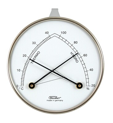 Hygrometer synthetic mit Thermometer 143
