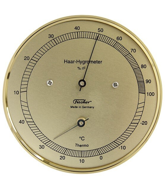 Haar-Hygrometer mit Thermometer 111TMS
