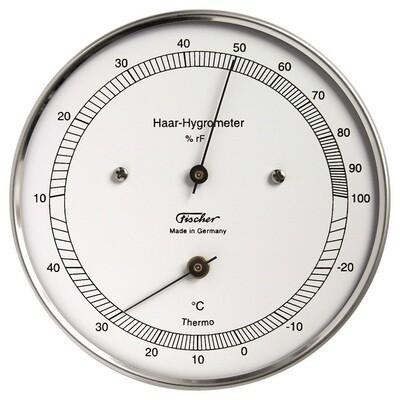 Haar-Hygrometer mit Thermometer 111.01T