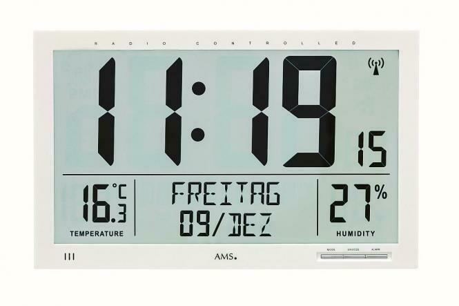 Funkwanduhr AMS 5887