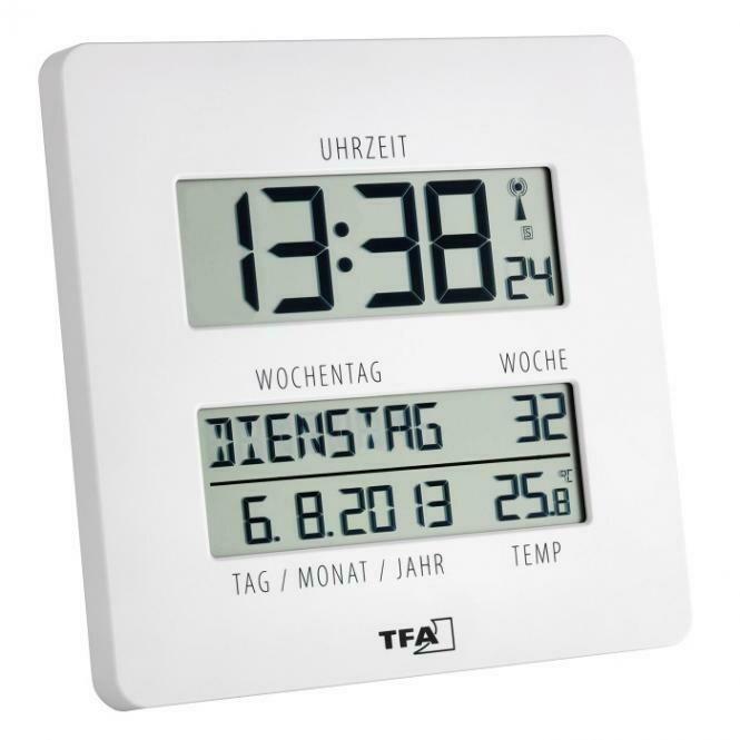 Funkuhr mit Temperatur