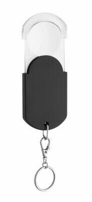 Taschenlupe mit Schlüsselring