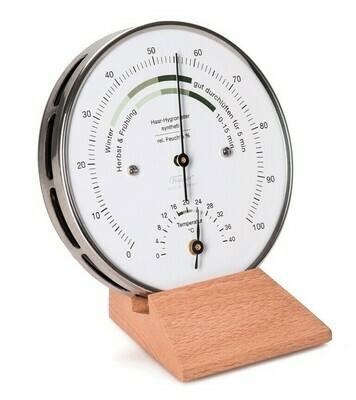 Fischer Wohnklima-Hygrometer mit Thermometer