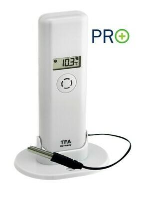 Thermo-Hygro-Sender mit wasserfestem Profi-Temperatur-Kabelfühler