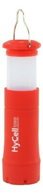 CAMPINGLAMPE 2IN1 / RED