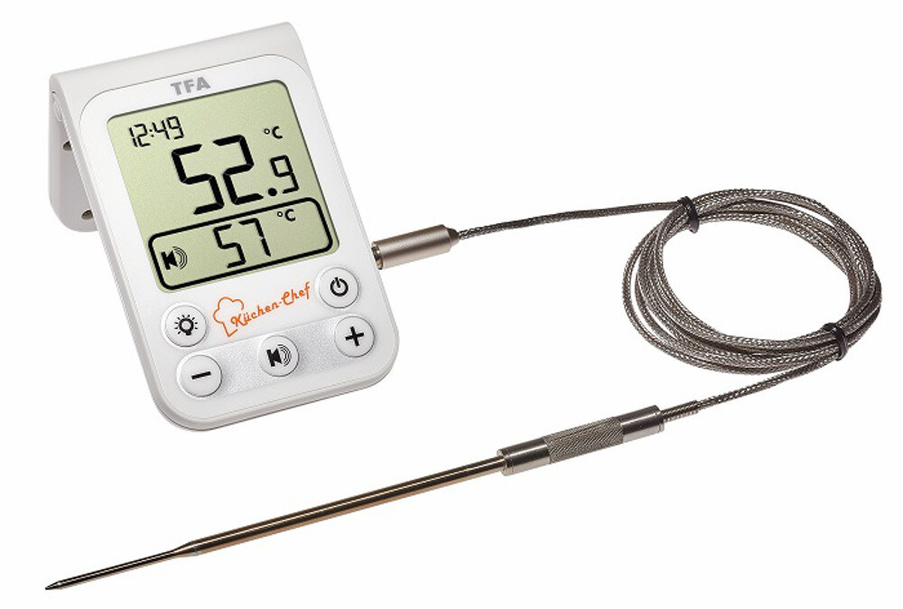 Küchen-Chef - Digitales Grill-Bratenthermometer