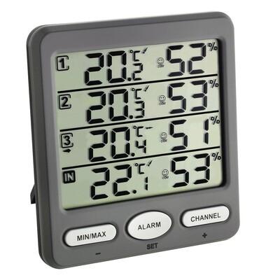 Funkthermo-Hygrometer KLIMA-MONITOR
