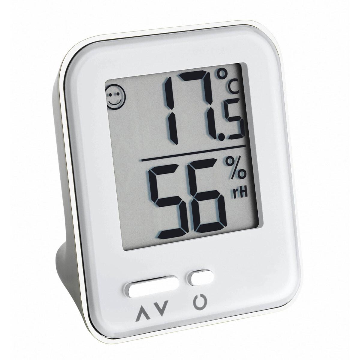 Digitales Thermo-Hygrometer METAL MOXX