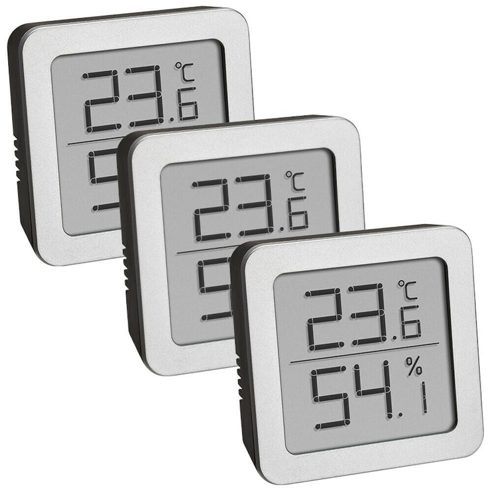 Set Digitale Thermo-Hygrometer (3 x)